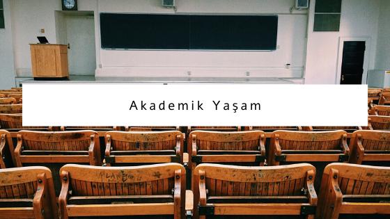 akademik yaşam hakkında yazılar