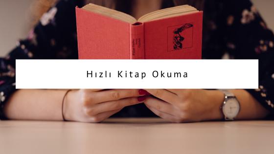 hızlı kitap okuma
